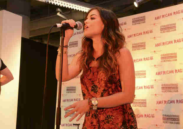 "Watch Lucy Hale Perform ""Lie a Little Better"" Live! (VIDEO)"