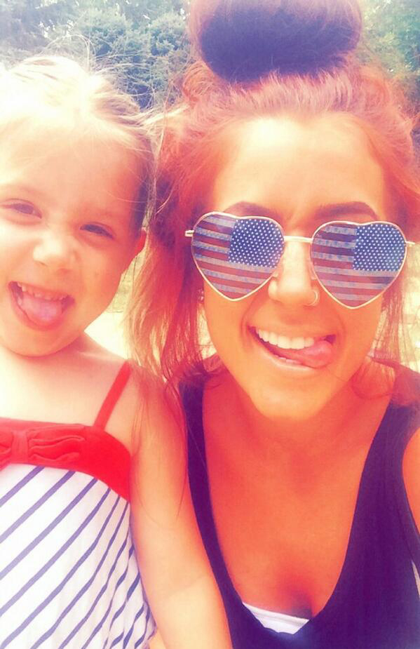 Chelsea Houska and Aubree Celebrate Independence Day in Style!