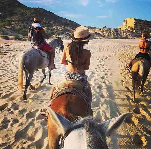 Naya Rivera Heads to Cabo With Rumored New Boyfriend, Ryan Dorsey