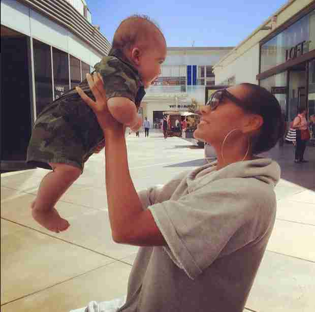 Evelyn Lozada Shares New Photos of Baby Carl Leo — See How Big He Is!