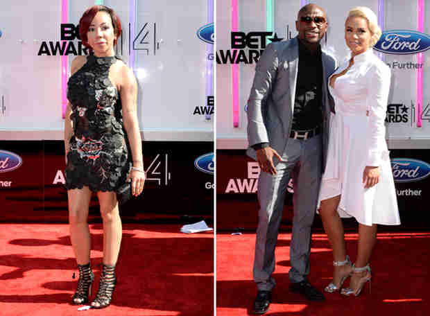 50 Cent Tells Floyd Mayweather to Leave Tiny Harris Alone!