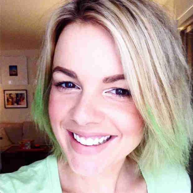 Ali Fedotowsky Dyes Her Hair Bright Green — See the Bold New Look! (PHOTO)