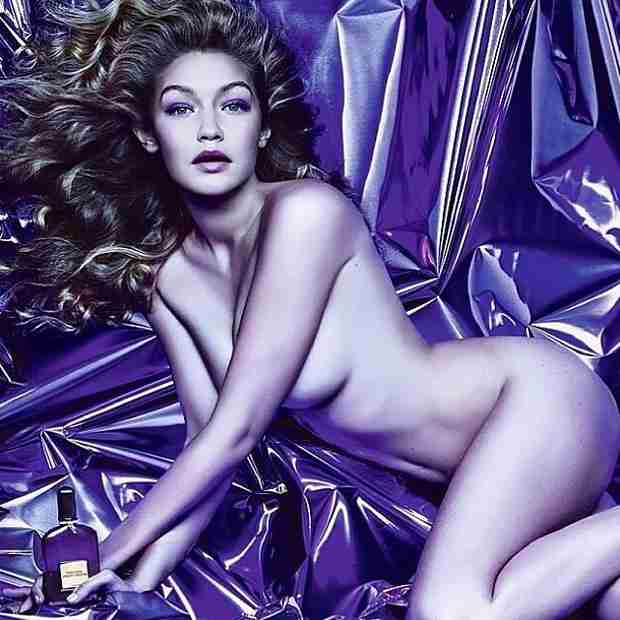 Gigi Hadid Is the New Face of Tom Ford's Velvet Orchid Fragrance! (PHOTO)
