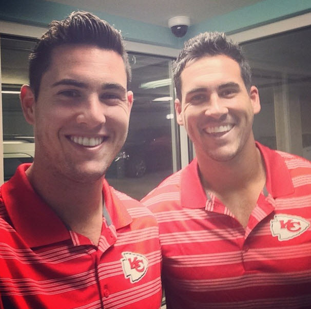 Josh Murray's Football Player Brother Aaron Is Training With Andi Dorfman's Ex!