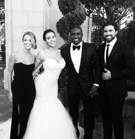 Brody Jenner Posts Photos From Reggie Bush Wedding — Kim Kardashian Diss Or Not?