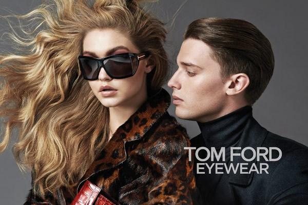 Gigi Hadid and Patrick Schwarzenegger Team Up in Tom Ford Eyewear Campaign (PHOTO)