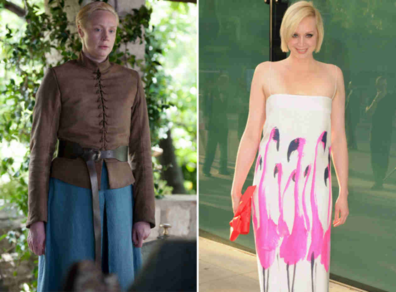 What Does Brienne Look Like Out of Character? (PHOTOS)