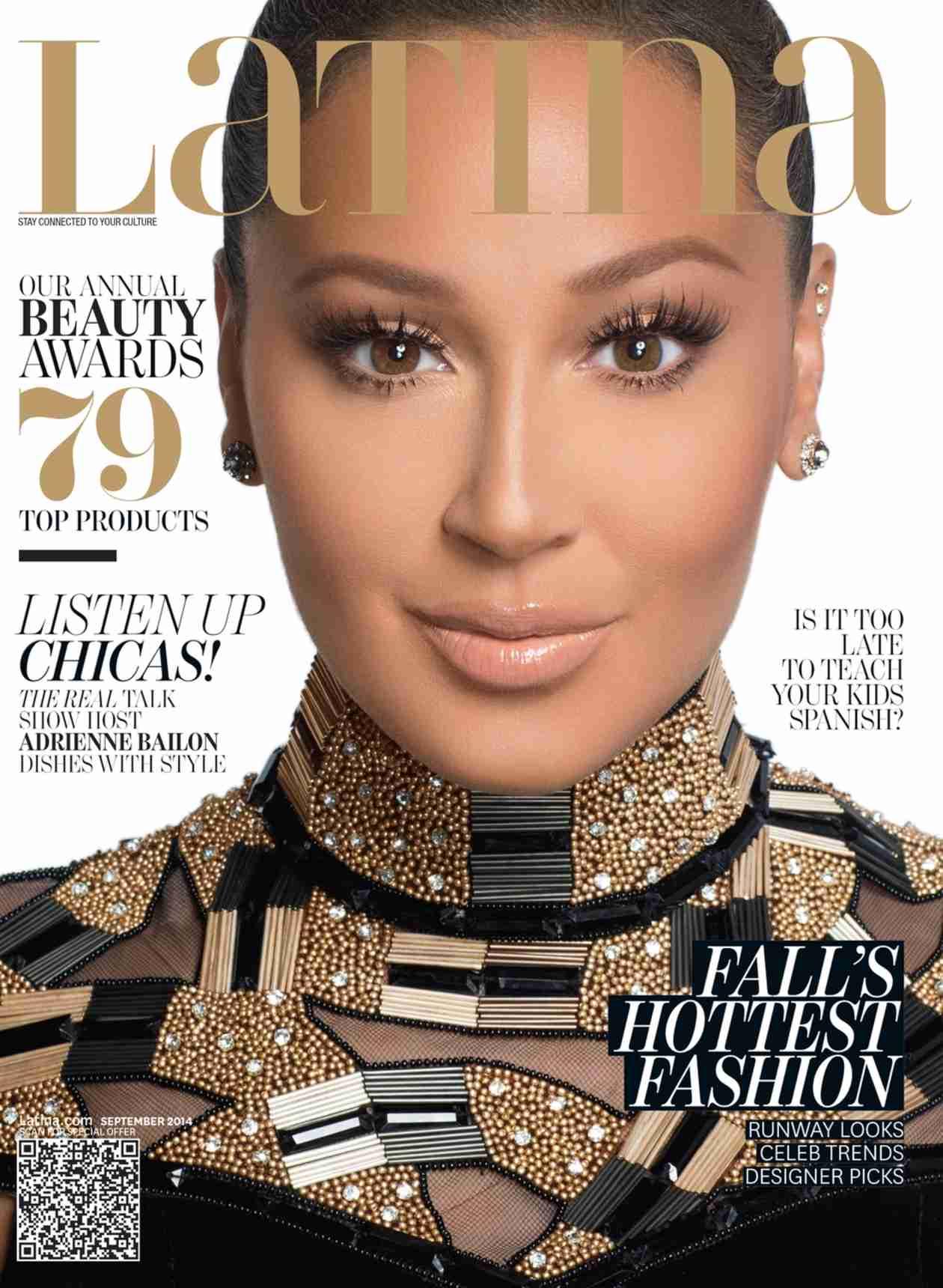 Kim Kardashian on the Warpath Over Adrienne Bailon's Latina Magazine Interview (VIDEO)