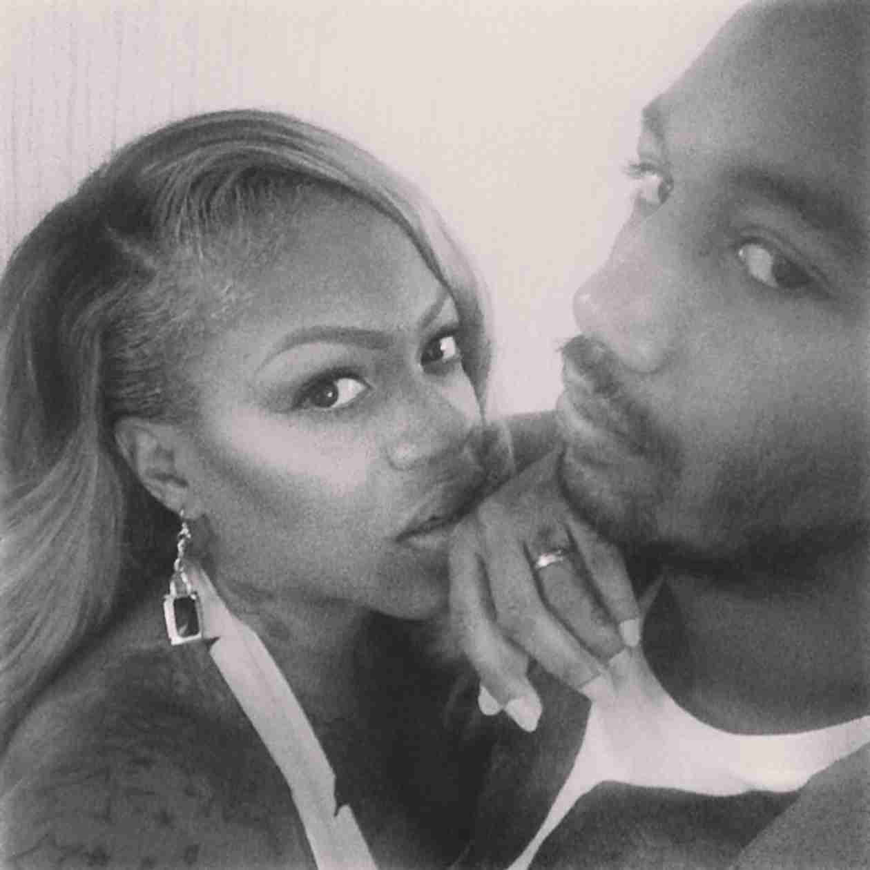 Lil' Mo and Boyfriend Take the Next Step in Relationship — See Her New Bling! (PHOTOS)