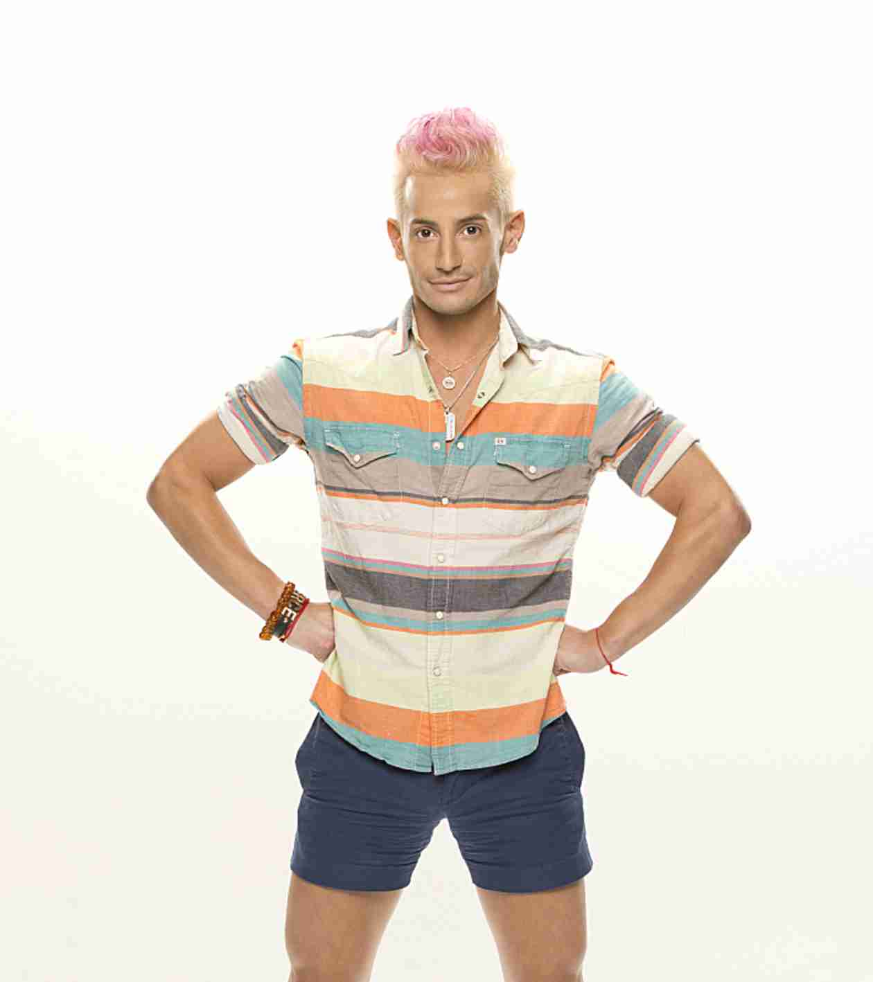 Lance Bass Dyes Hair Blue — For Big Brother 16's Frankie Grande! (PHOTOS)