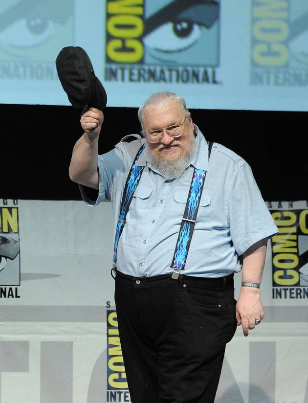 George R. R. Martin Flips Off People Who Think He Won't Finish Game of Thrones Books