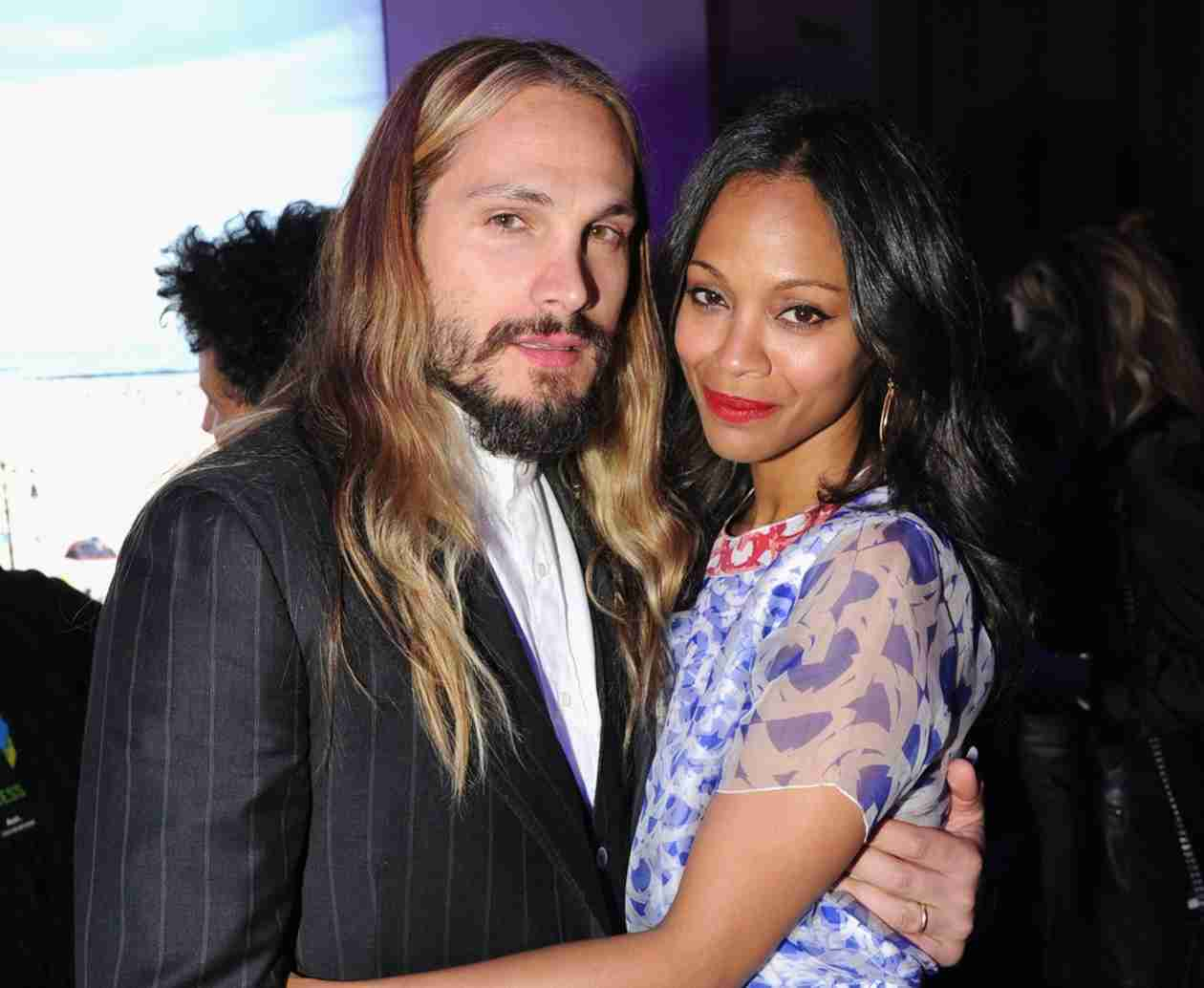 "Zoe Saldana: Life After Bradley Cooper Was ""Bliss"" Before She Married Marco Perego"