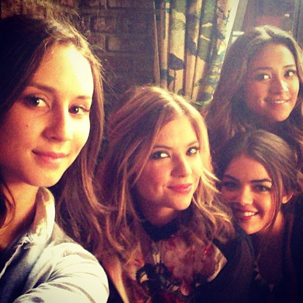 """Lucy Hale and Troian Bellisario Congratulate Ashley Benson and Shay Mitchell on Teen Choice Noms — """"It's About Time"""""""