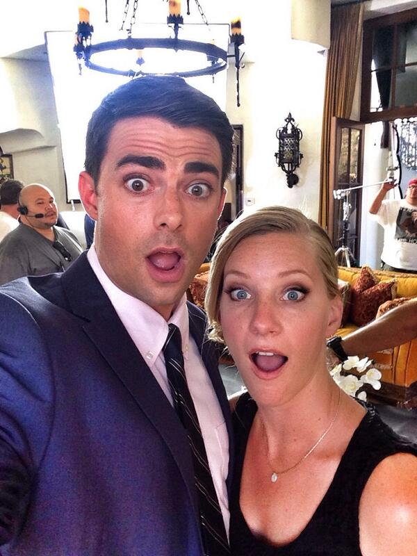 See Heather Morris on the Set of Her Latest Movie! (PHOTOS)