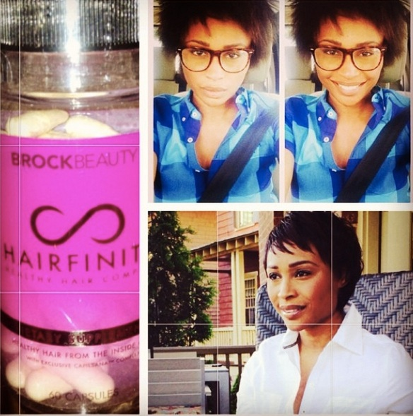 Cynthia Bailey Shows Off Her Natural Hair (PHOTO)