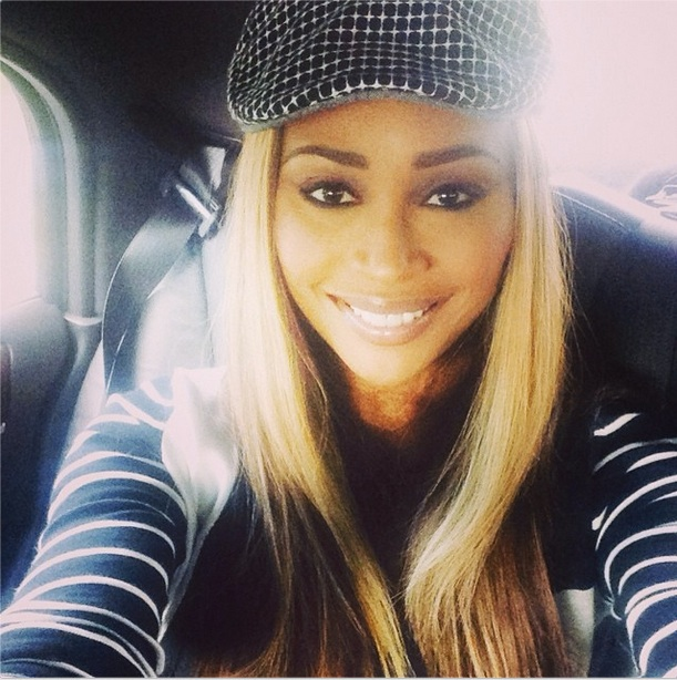 Cynthia Bailey Goes Blonde (PHOTO)