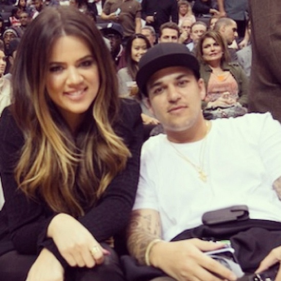 Khloe Kardashian Concerned About Brother Rob's Partying — Report
