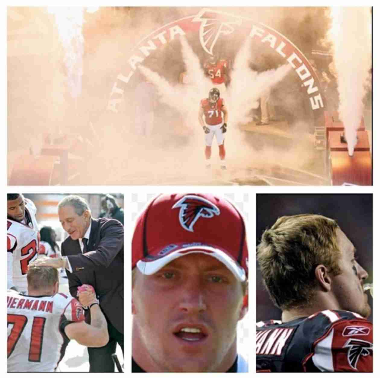 Kroy Biermann Heads to Football Training Camp