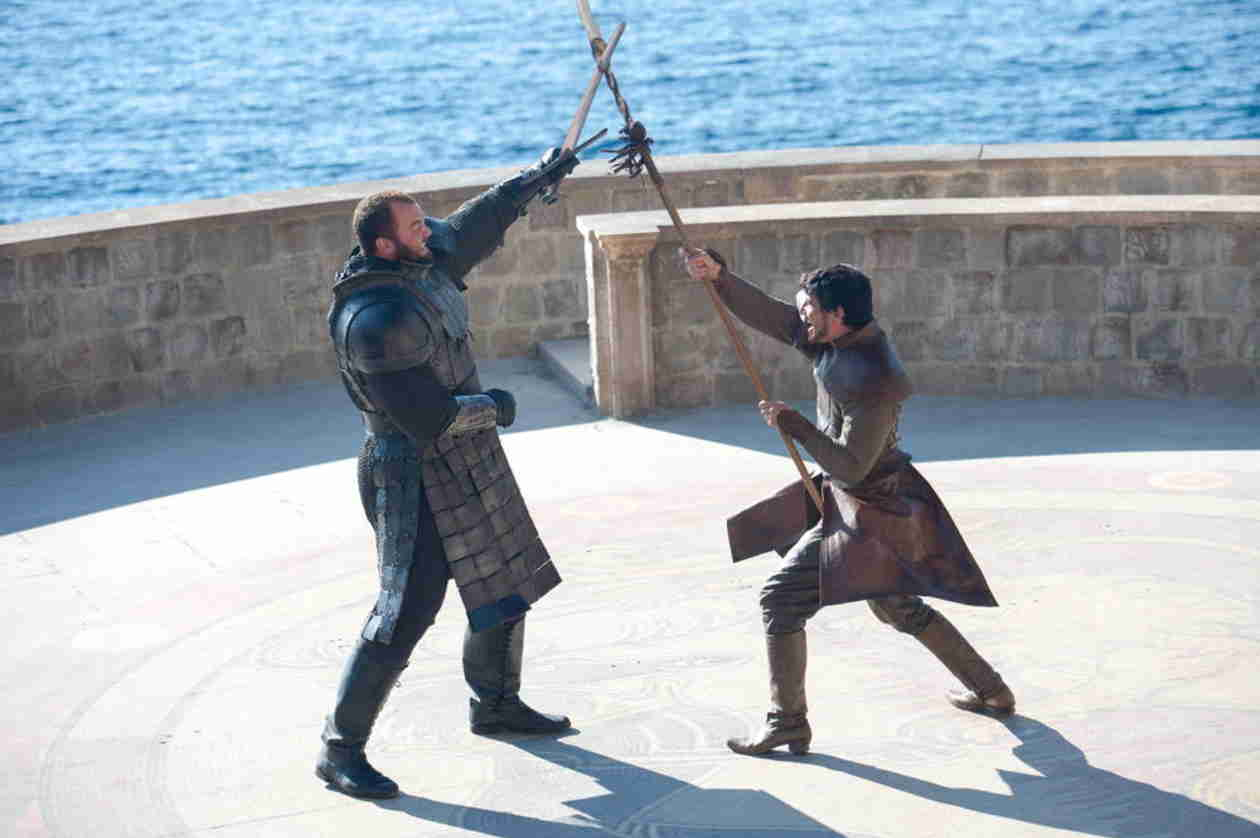 Game of Thrones' The Mountain on Filming Oberyn's Death