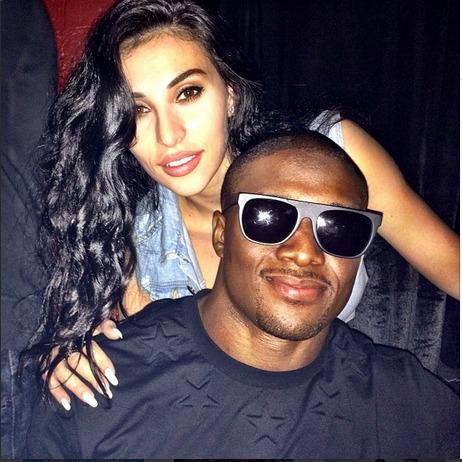 Kim Kardashian's Ex Reggie Bush Marries Lilit Avagyan