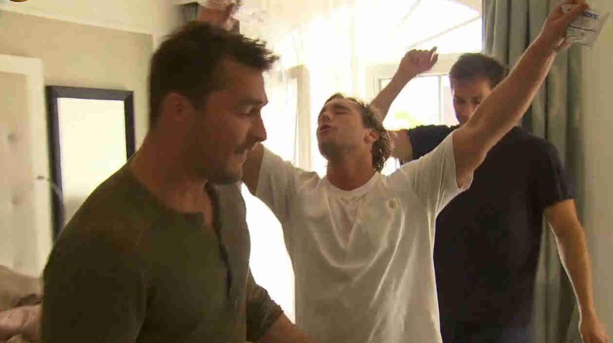 See Bachelorette Contestants in Sweaty Celine Dion Dance Party! (VIDEO)