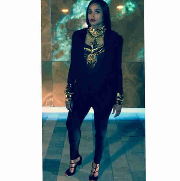 Ciara Makes Her First Post-Pregnancy Debut! (PHOTO)