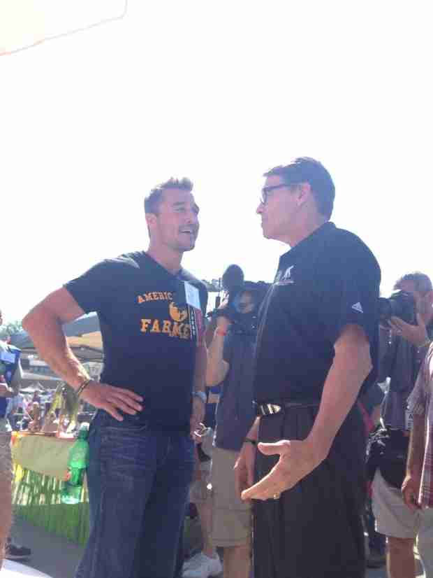 Bachelor Hopeful Chris Soules Spotted With Republican Politicians in Iowa