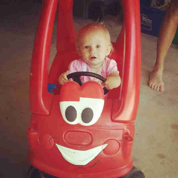Adam Lind's Daughter Paislee Is Already Driving! — See the New Pic (PHOTO)