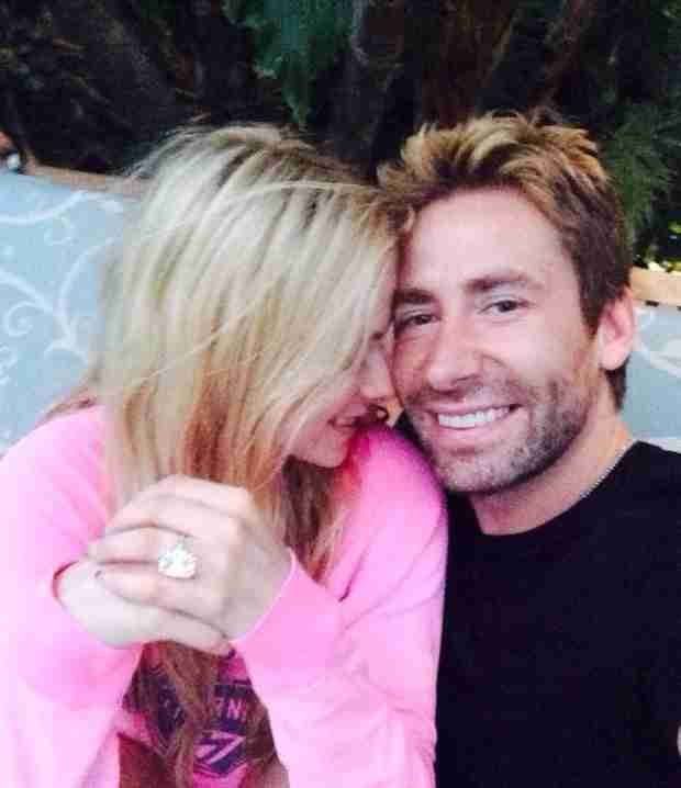 Avril Lavigne Gets 17-Carat Upgrade from Chad Kroeger for One Year Wedding Anniversary (VIDEO)