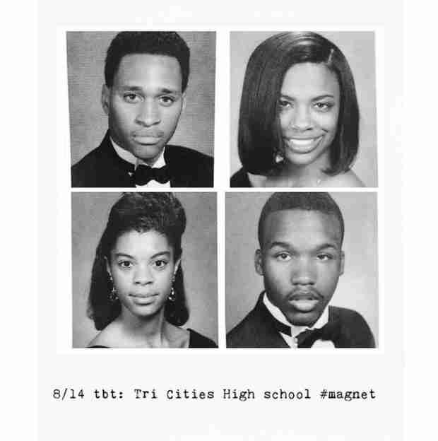 See Kandi Burruss' High School Yearbook Photo From Senior Year!