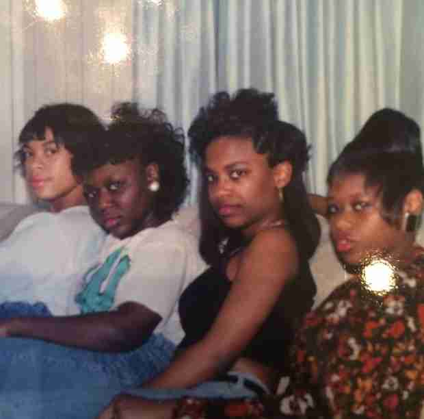 Kandi Burruss Shares Early Xscape Pictures — Check Out that Hair! (PHOTOS)