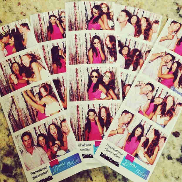 Andi Dorfman and Josh Murray's Double Date — See the Hilarious Photo Booth Pics! (PHOTOS)