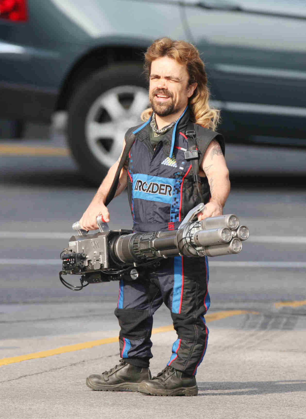 Peter Dinklage Rocks Crazy Mullet in New Film — Check It Out! (PHOTO)