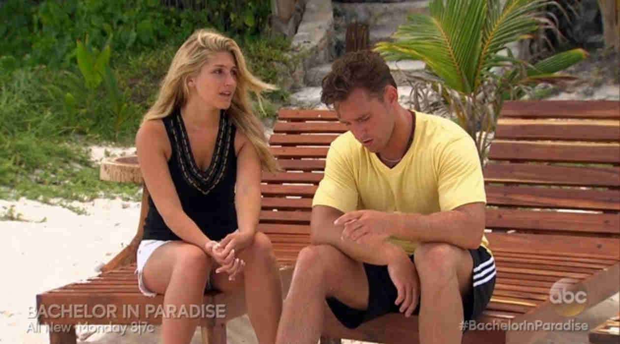 Bachelor in Paradise: Dylan Petitt Finds Out Elise Mosca Was Kissing Someone Else! (VIDEO)