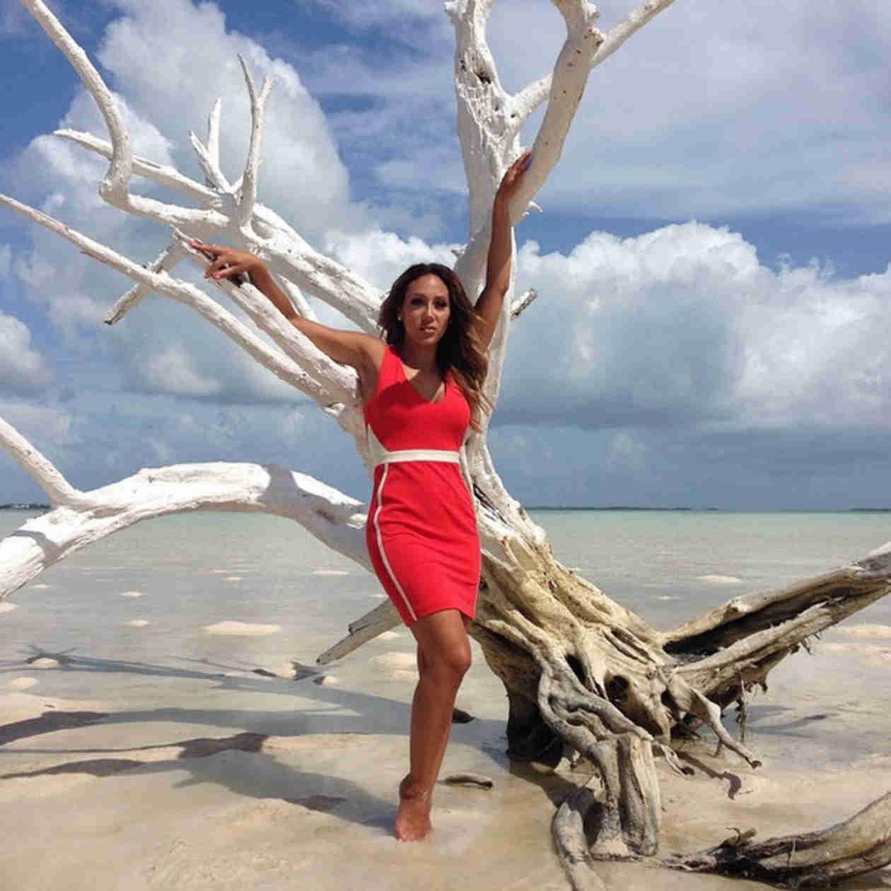 Melissa Gorga Shows Off Beach Bod in Bahamas Photoshoot (PHOTOS)