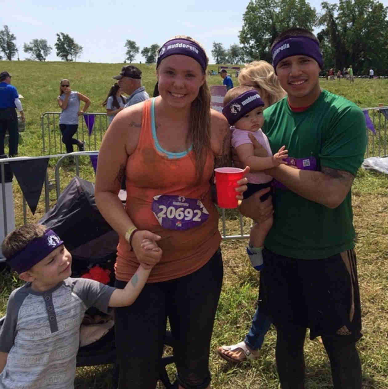 Kailyn Lowry Shows Off Her Slimmed-Down Body at Mudderella! (PHOTO)