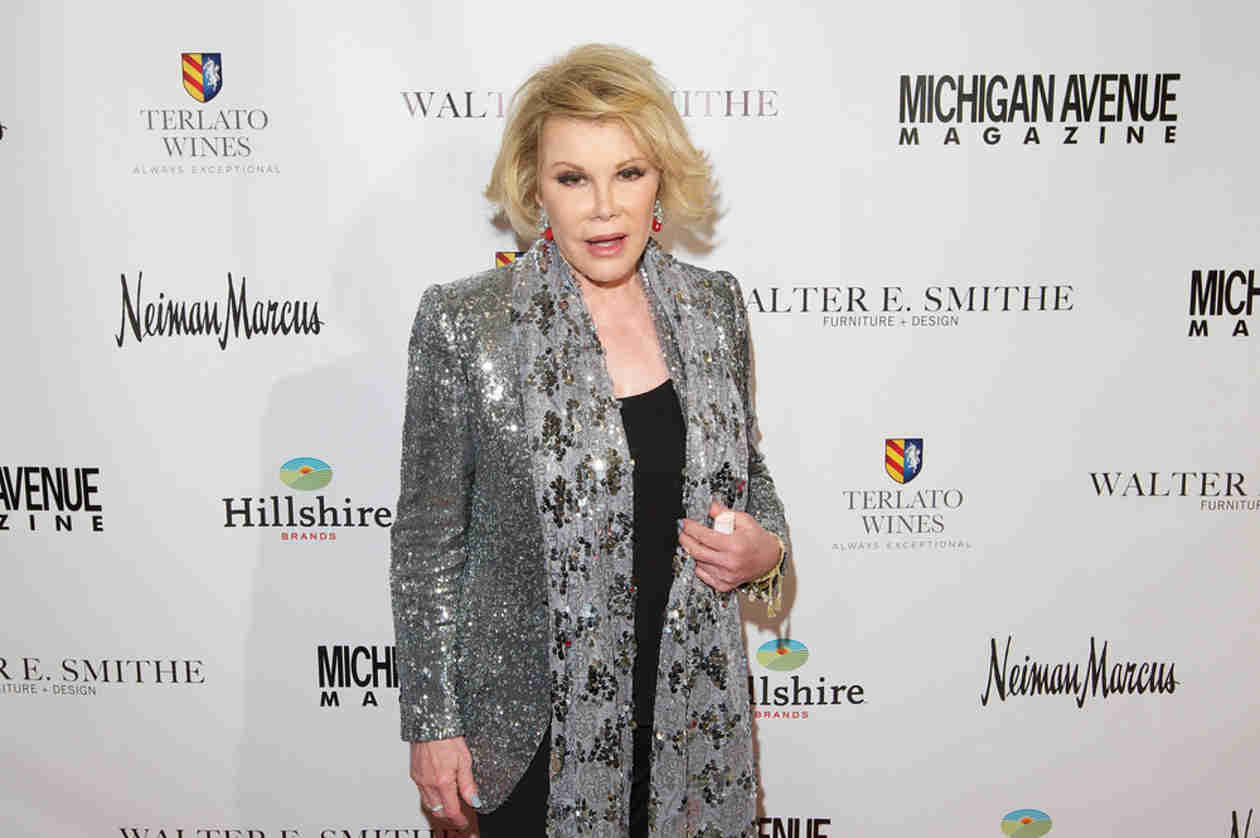 """Joan Rivers """"Resting Comfortably"""" After Surgery Complications (UPDATE)"""