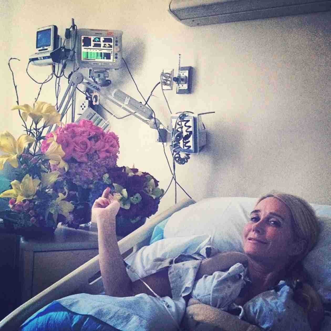 Kim Richards Lands in the Hospital — But Why? (PHOTO)