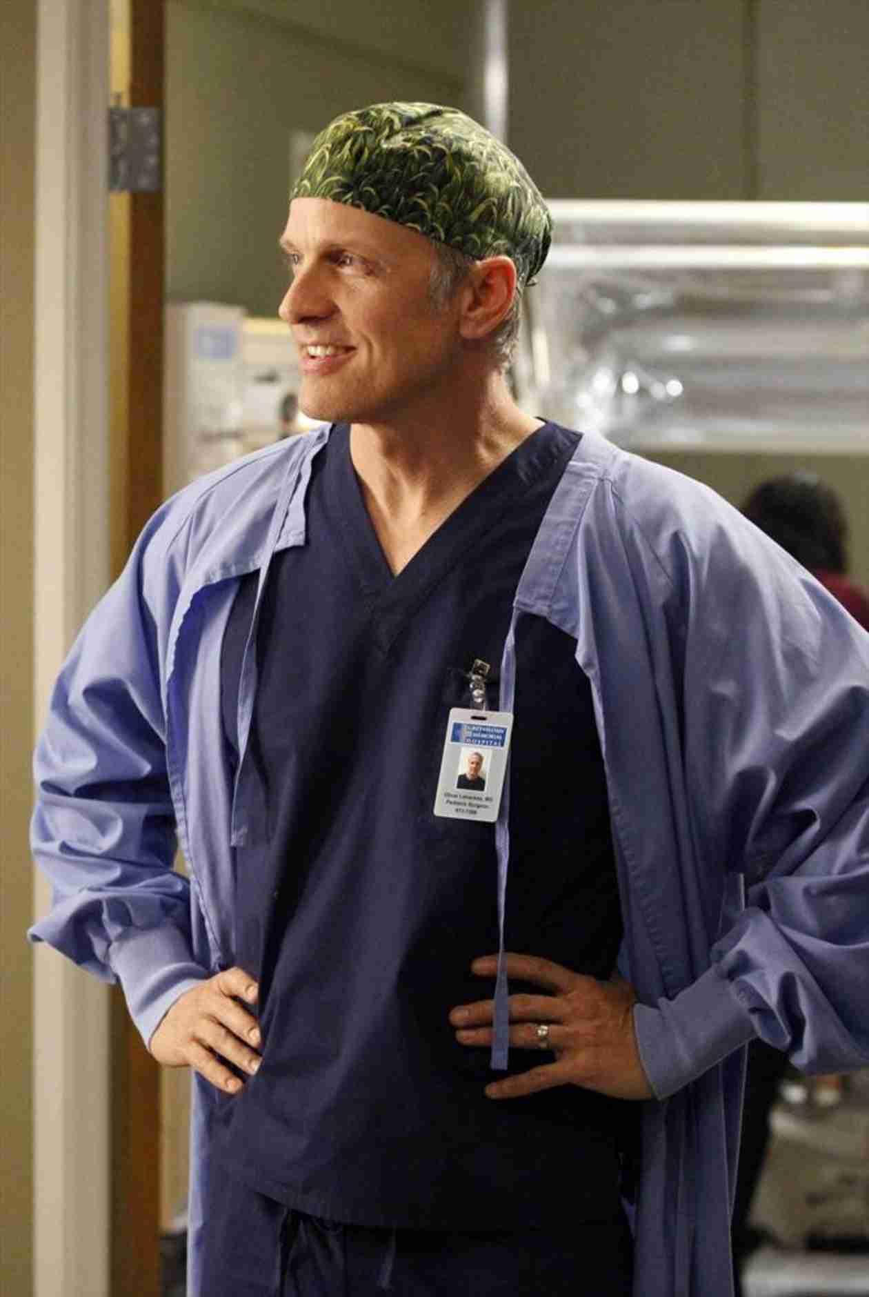 "Grey's Anatomy Season 11 Pages ""Dr. Butthole"" — Patrick Fabian Back on Set!"