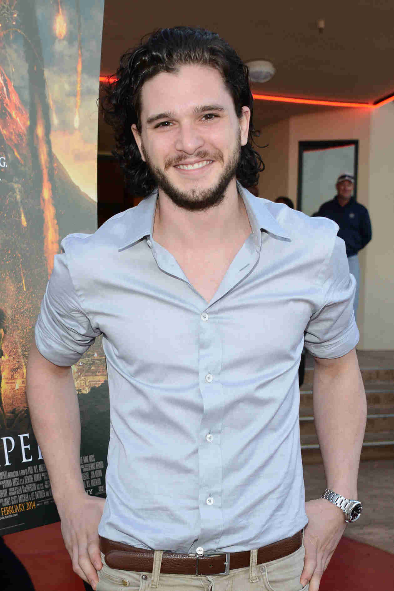 Check Out Kit Harington With Short Hair! (VIDEO)