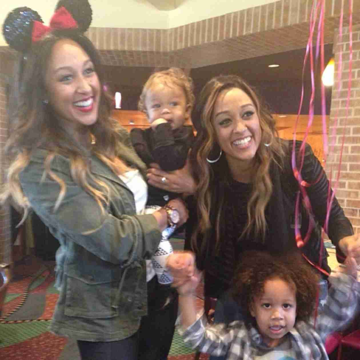 """Tamera Mowry to Internet Trolls Hating on Tia Mowry's Son: """"Don't Mess With My Nephew"""""""