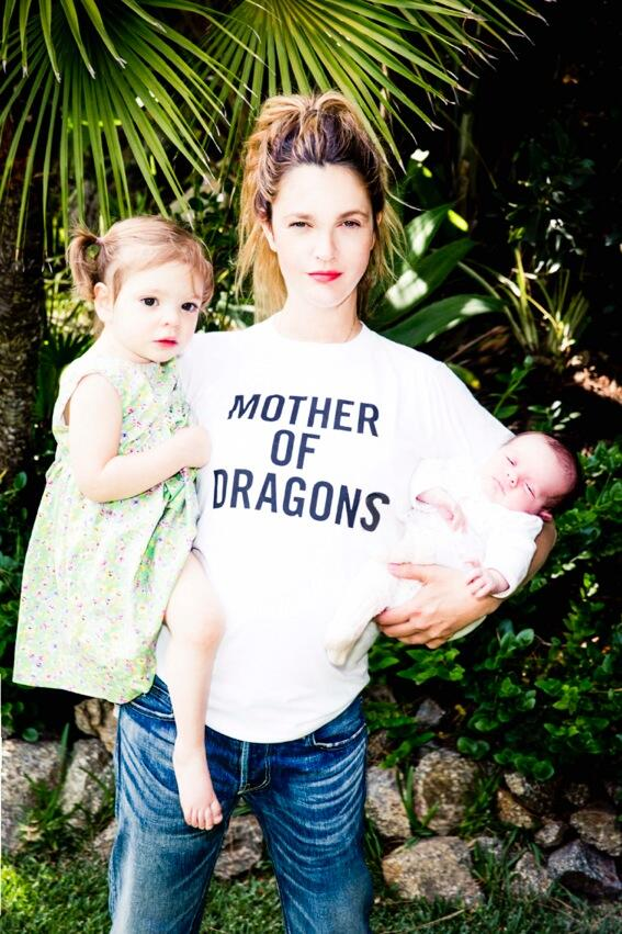 You'll Never Guess What Drew Barrymore's Daughter Olive Was Doing on the Beach! (PHOTO)