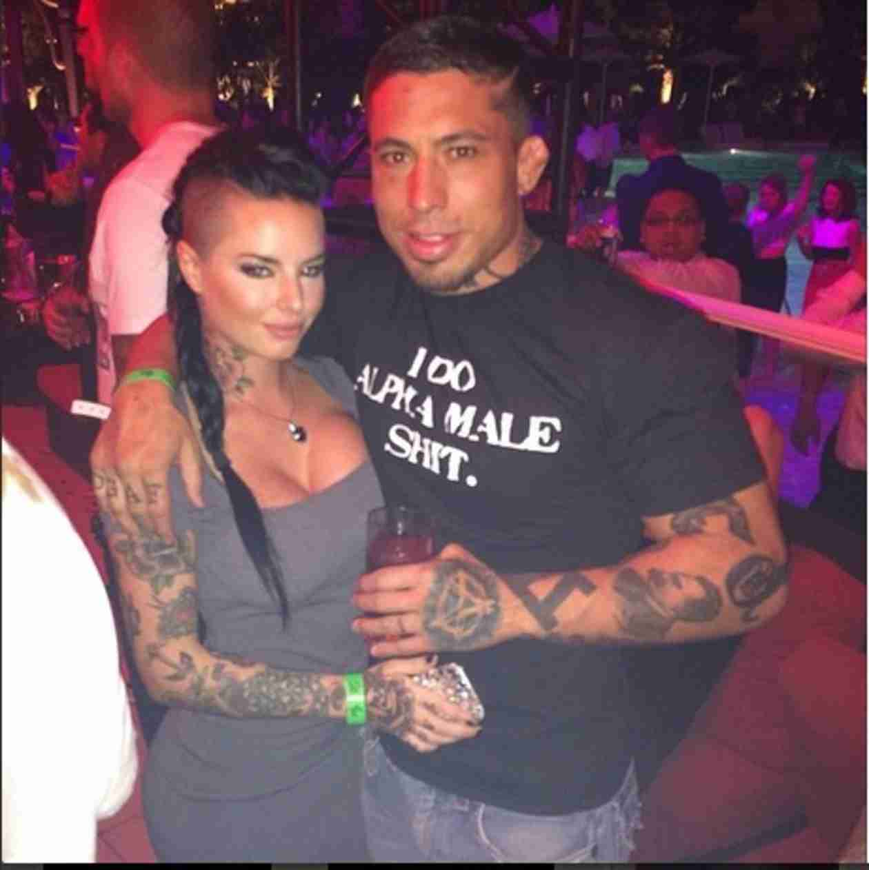 MMA Fighter War Machine Is Prime Suspect in Porn-Star Girlfriend's Vicious Beating — Report