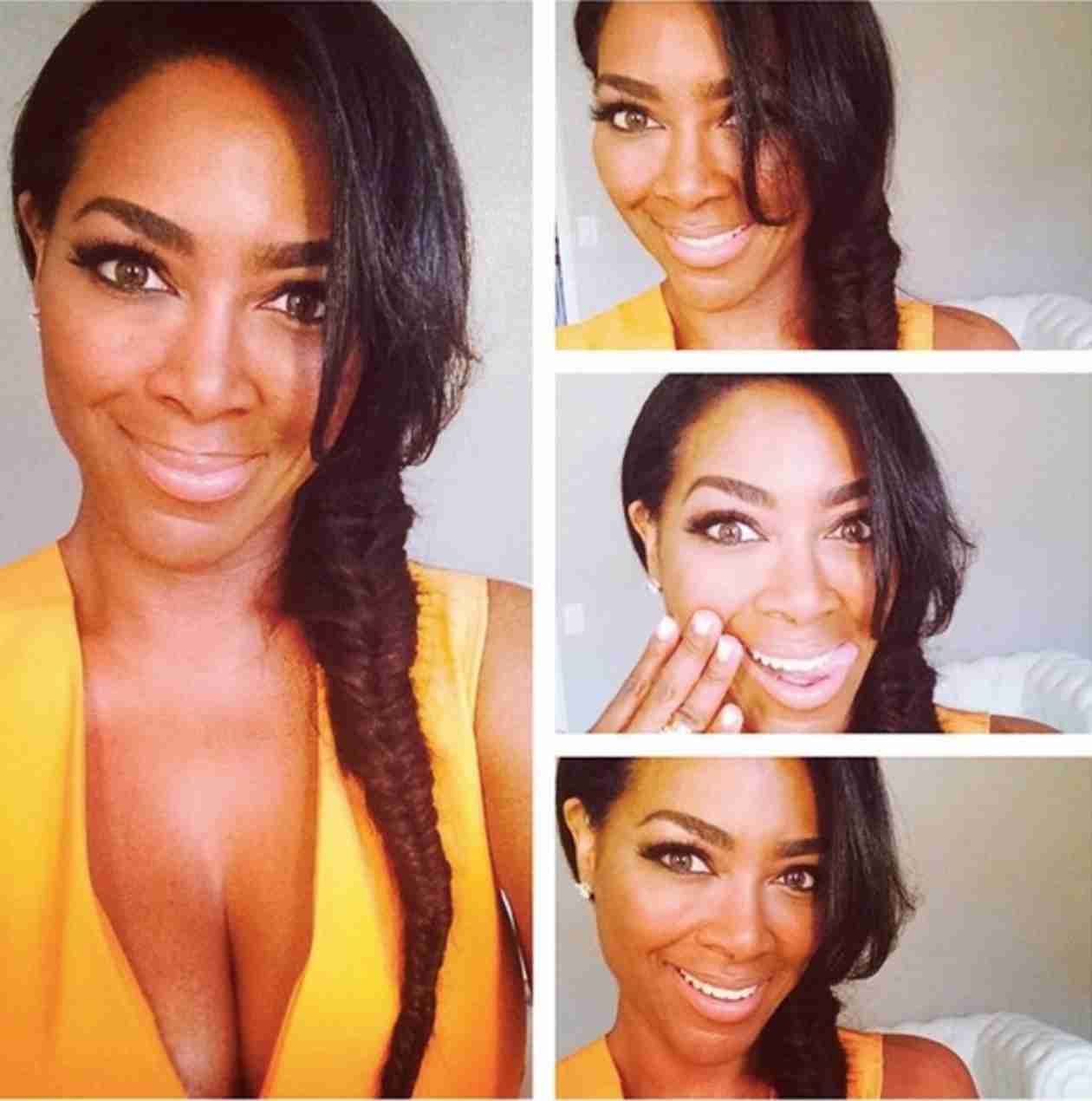 Kenya Moore Debuts Trendy New Hairstyle (PHOTO)