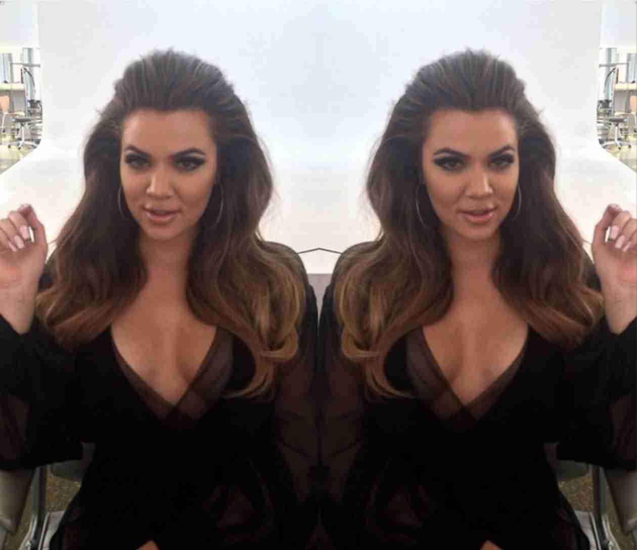 Khloe Kardashian Goes Back to Brunette!