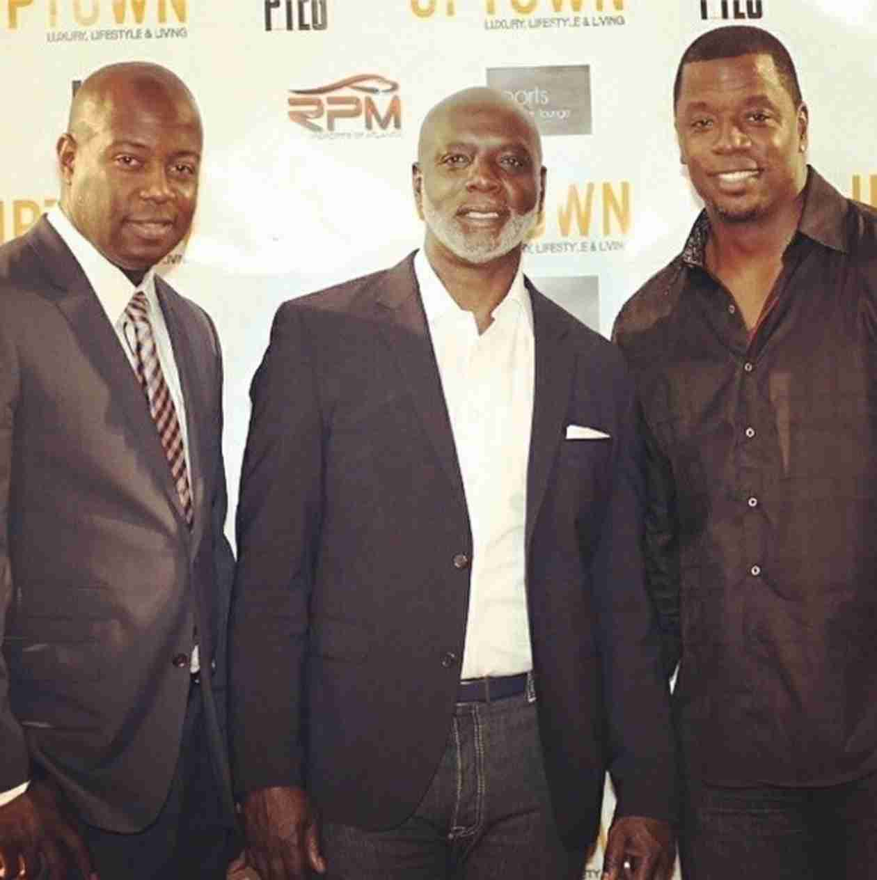 Kordell Stewart Supports Peter Thomas and Sports One Opening