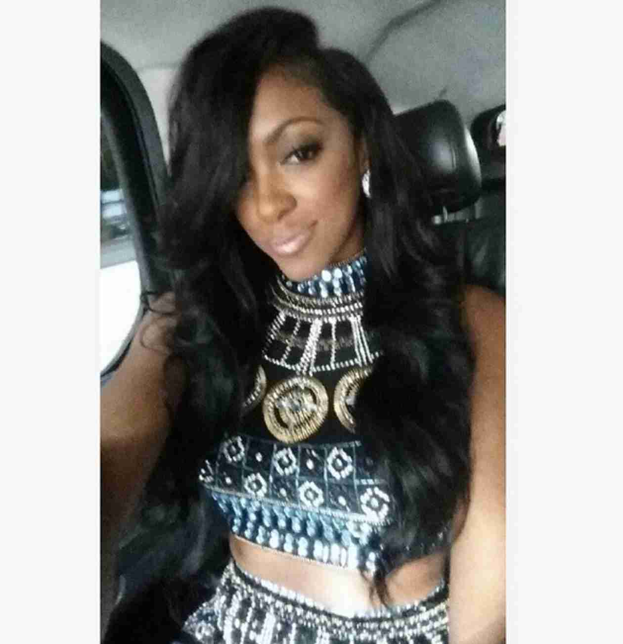 Porsha Stewart Coming Out With a Rap Song? It's Not What You Think! (VIDEO)