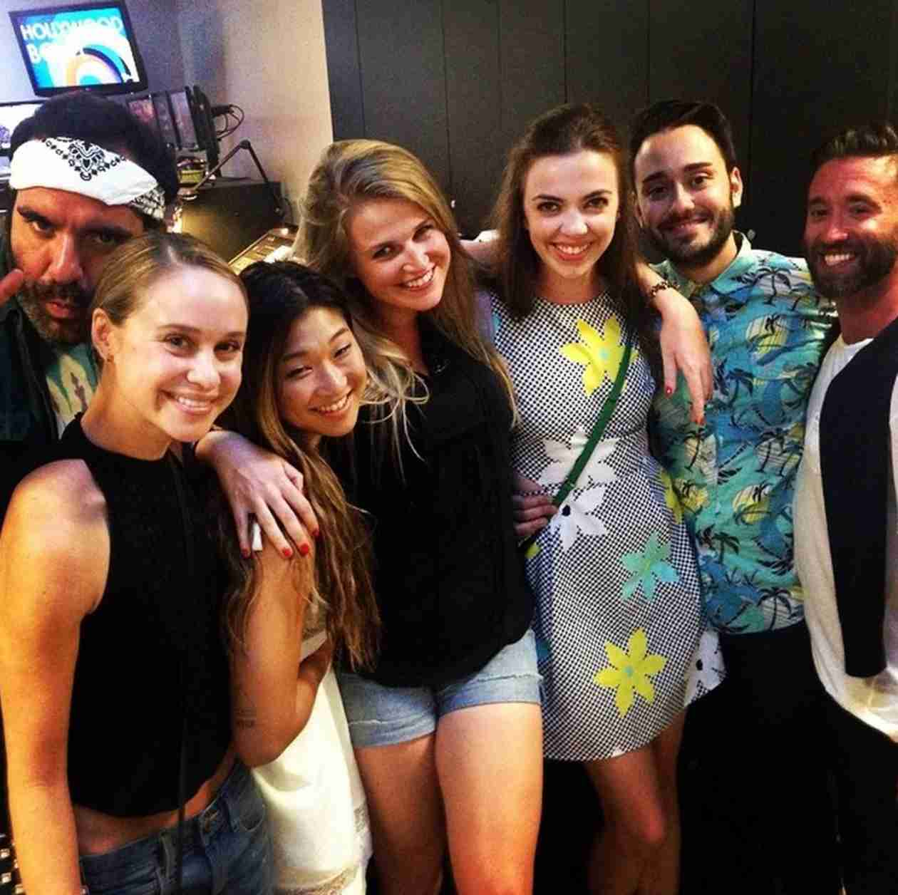 Becca Tobin Makes First Public Appearance Since Boyfriend's Death, Supports Glee Co-Stars in Hair (PHOTOS)