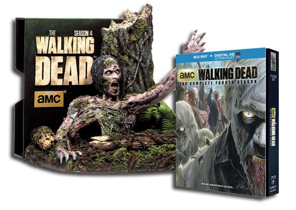 Details on The Walking Dead Season 4 DVD, Blu-ray Bonus Features, Commentaries