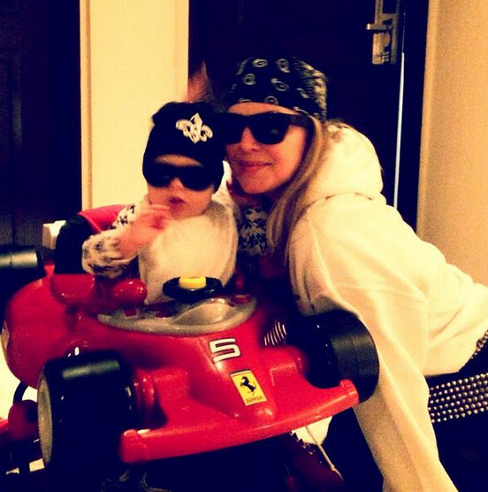 Fergie and Josh Duhamel's Son Axl Took His First Step!